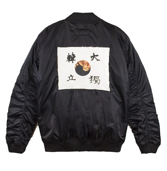 1909 AHN'S FLAG BOMBER (BLACK)