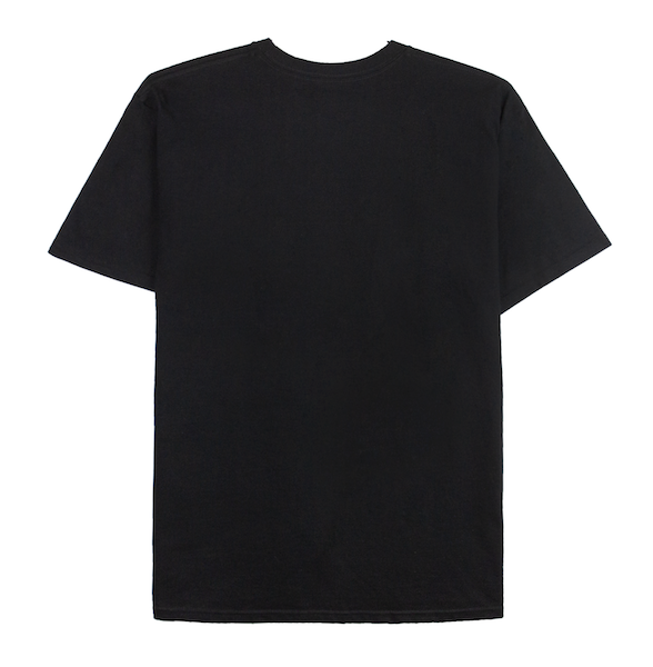 DOUBLE STACK TEE (BLACK)