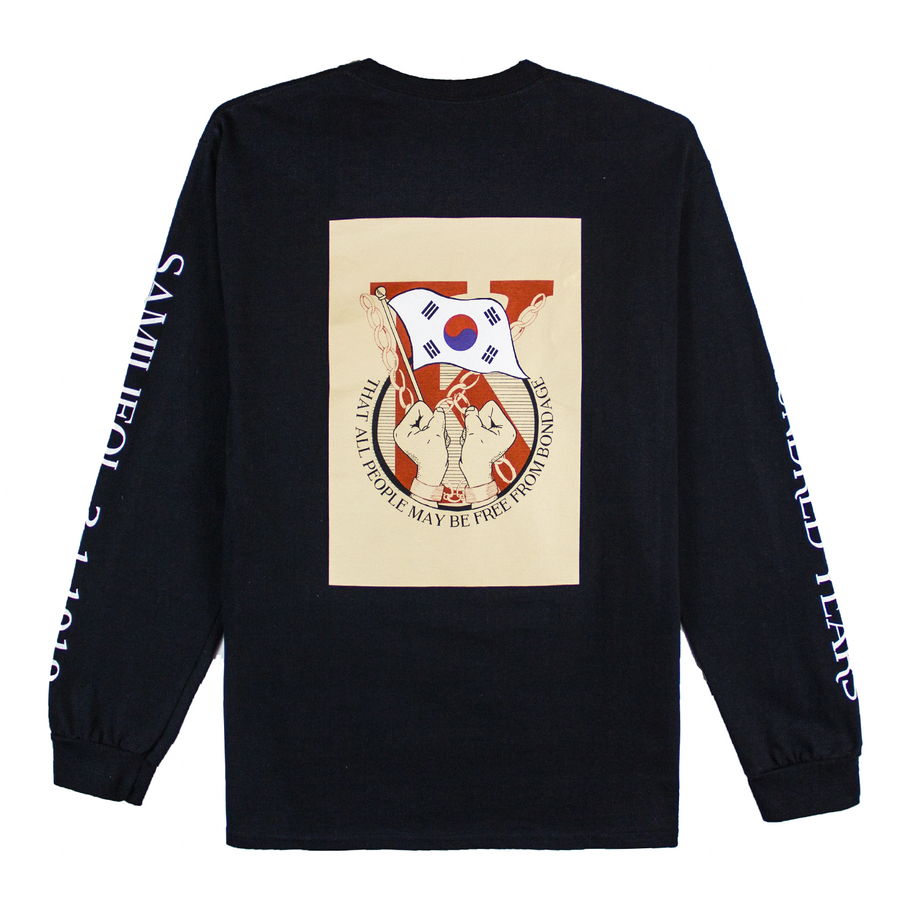 SAMILJEOL 1919 LONG SLEEVE (BLACK)