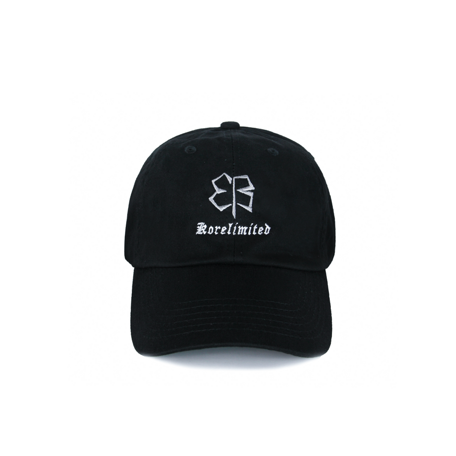 EB DAD HAT (BLACK)