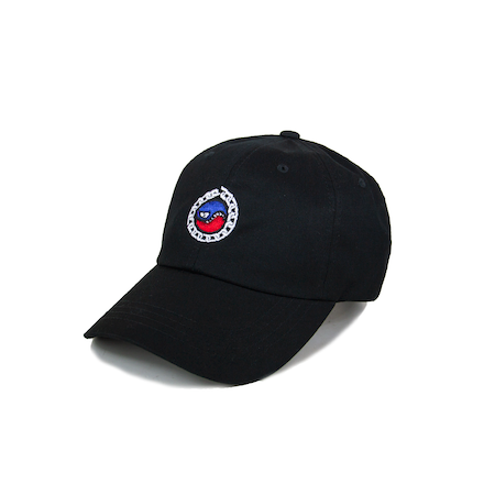 SMILES PET DAD HAT (BLACK)