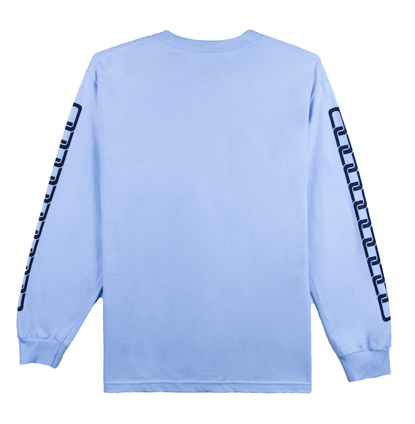 SMILES PET LONG SLEEVE (LIGHT BLUE)