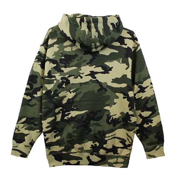 KORELIMITED CLASSIC PULLOVER HOODIE - CAMO