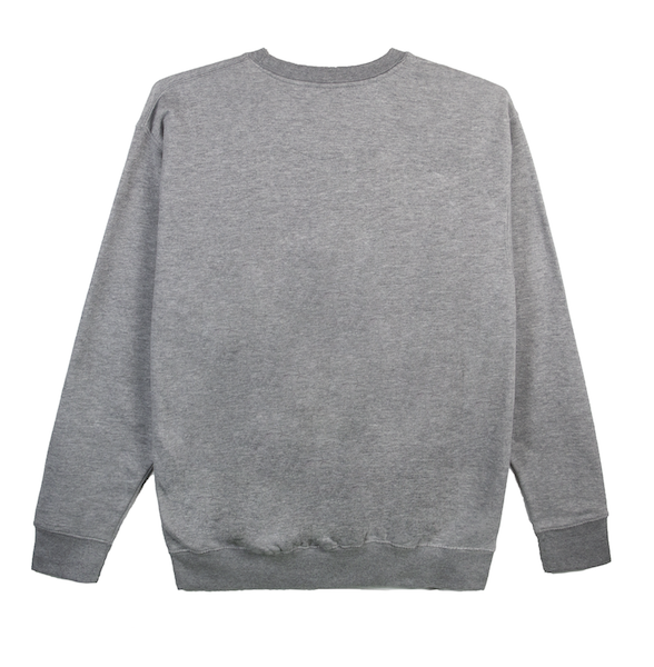 DOUBLE STACK CREWNECK (CARBON GREY)