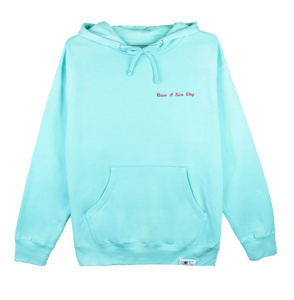 HAVE A NICE DAY HOODIE (MINT)