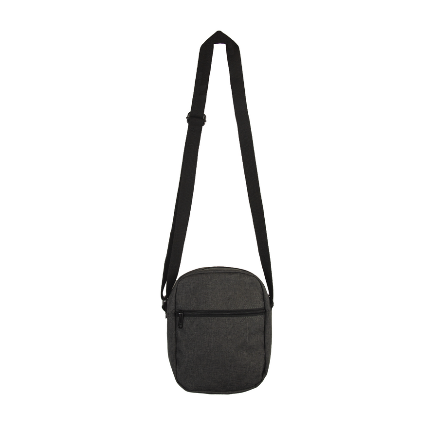 KORELIMITED TRIGRAM SIDE BAG (CHARCOAL)