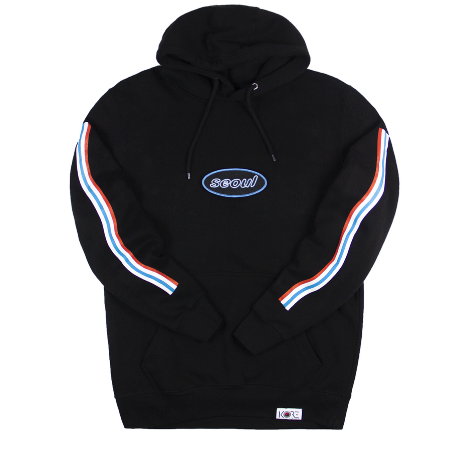 NEON: SEOUL VELCRO PATCH HOODIE (LIMITED EDITION)