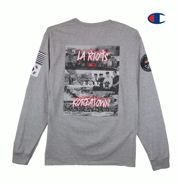 LA RIOTS SPECIAL EDITION LONG SLEEVE (LIGHT STEEL)