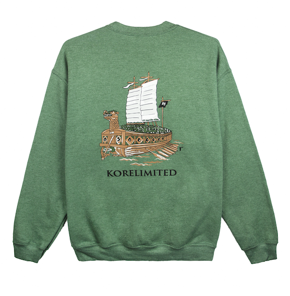 TURTLE SHIP CREWNECK (GREEN)