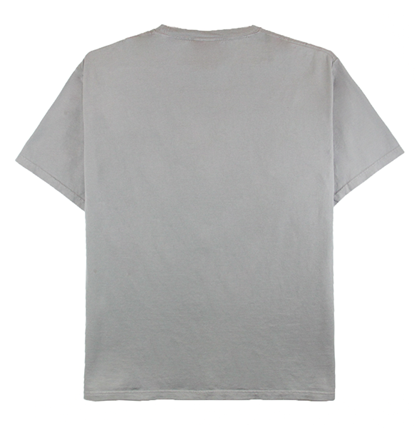 Front view of concrete ComfortWash tee with an 88 embroidery on the chest.