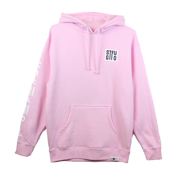 GTFO PULLOVER HOODIE - PINK (LIMITED EDITION)