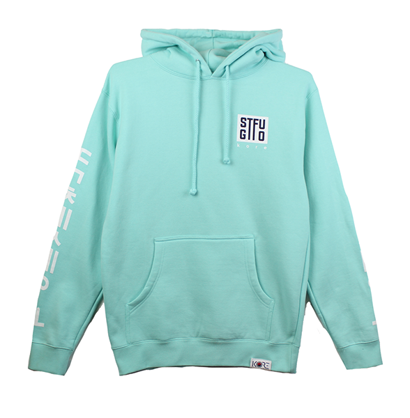 GTFO PULLOVER HOODIE - MINT (LIMITED EDITION)