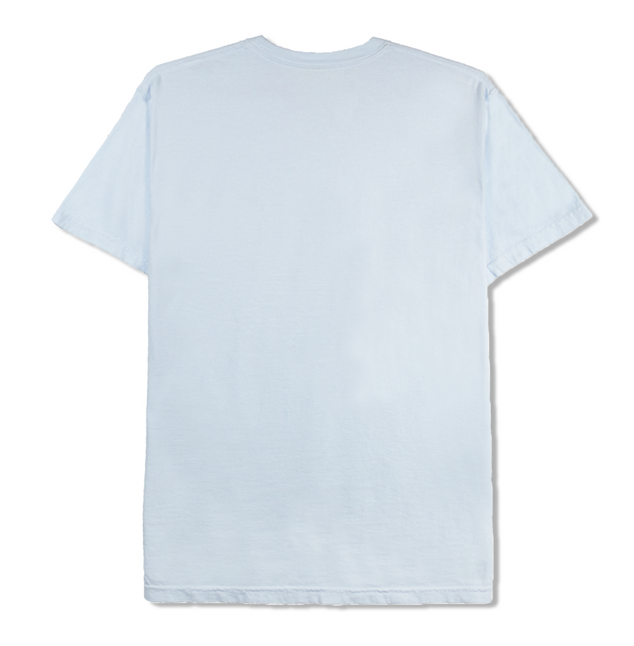 DOUBLE SCOOP TEE (LIGHT BLUE)