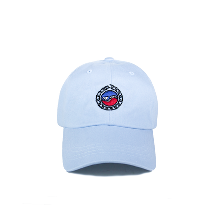 SMILES PET DAD HAT (LIGHT BLUE)