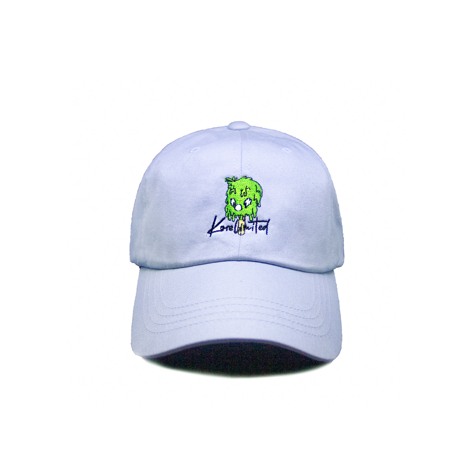 2-2 DRIP DAD HAT (LIGHT BLUE)
