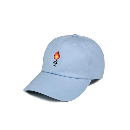 LIT DAD HAT (LIGHT BLUE) - KORE LIMITED