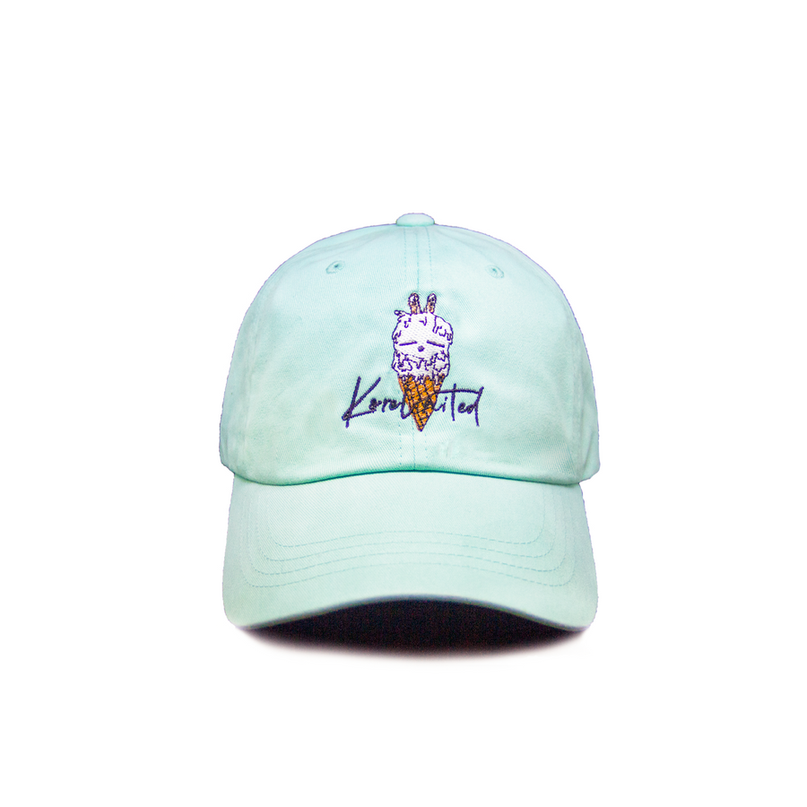 DOUBLE SCOOP DAD HAT (MINT)
