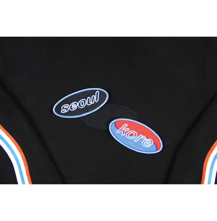 NEON: SEOUL VELCRO PATCH CREWNECK (LIMITED EDITION)