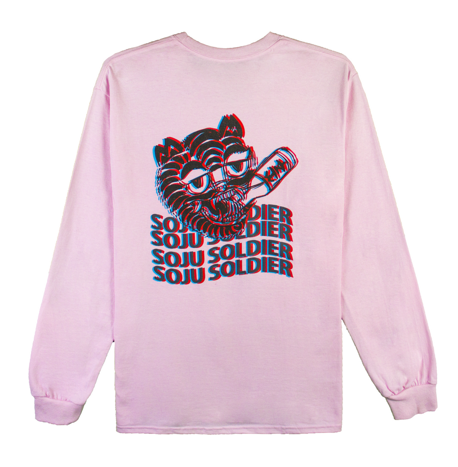SOJU TIGER LONG SLEEVE (PINK)
