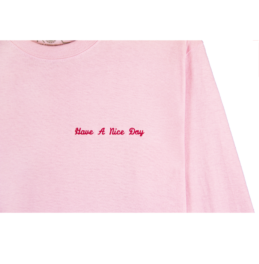 HAVE A NICE DAY LONG SLEEVE (PINK)