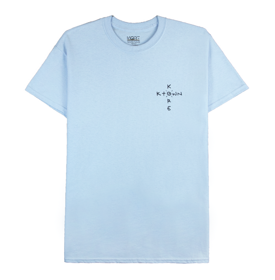 WELL DONE TEE (POWDER BLUE)