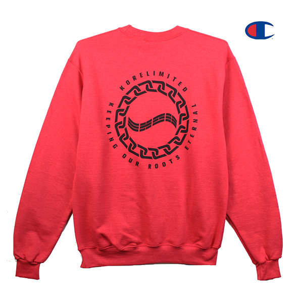 CHAIN WAVE CREWNECK