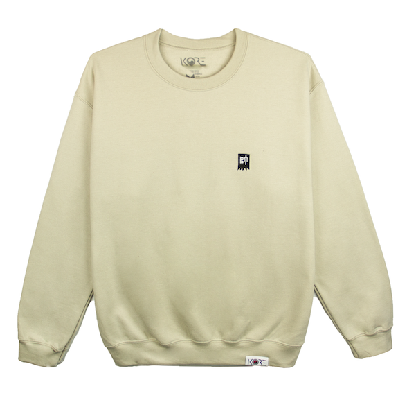TURTLE SHIP CREWNECK (SAND)