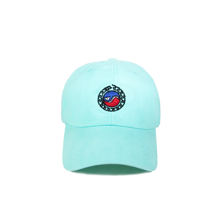 SMILES PET DAD HAT (DIAMOND BLUE)