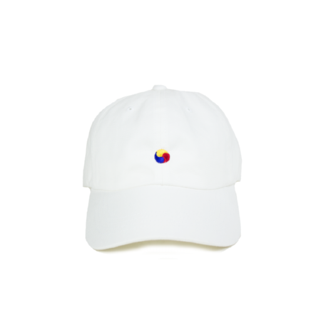 TRICOLOR YIN & YANG DAD HAT - KORE LIMITED