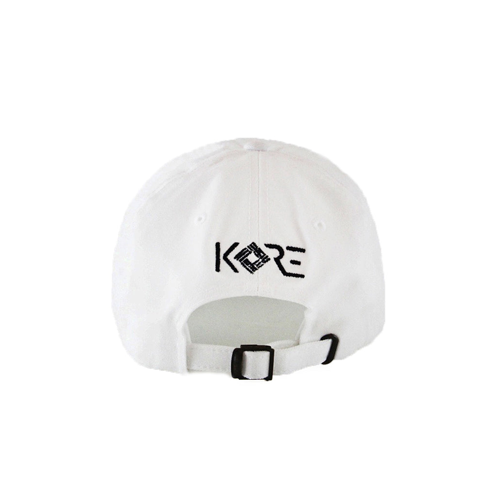 ROCKET TO THE MOON DAD HAT (WHITE)