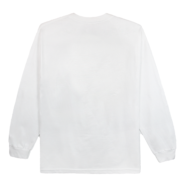 DOUBLE STACK LONG SLEEVE (WHITE)