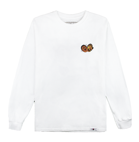 TAL LONG SLEEVE (WHITE)