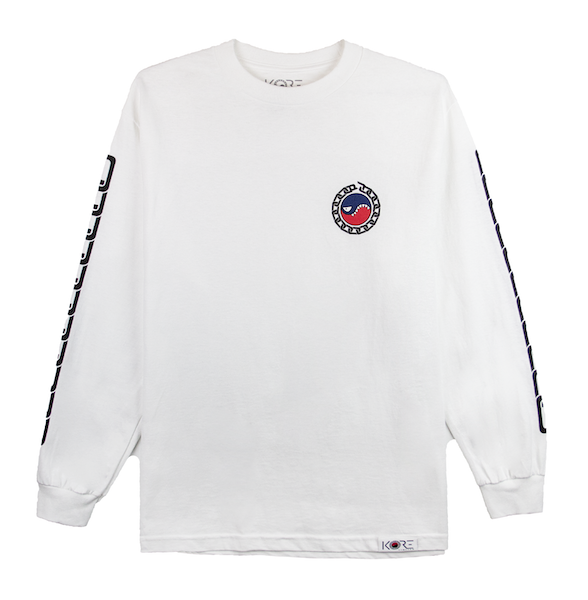 SMILES PET LONG SLEEVE (WHITE)