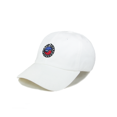 SMILES PET DAD HAT (WHITE)