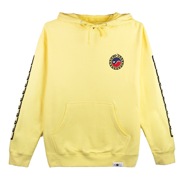 SMILES PET HOODIE (YELLOW)