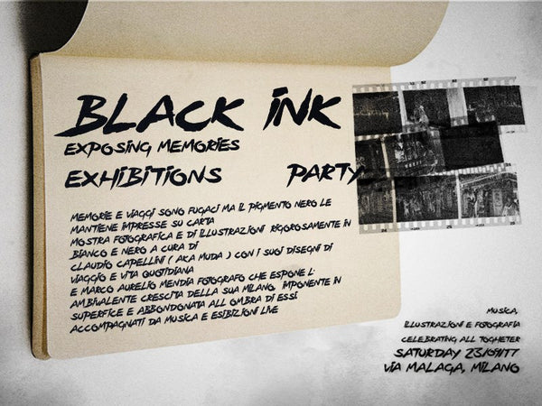 BLACK INK EXHIBITION & PARTY