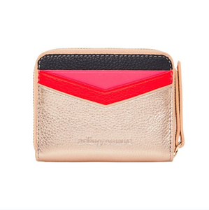 Alexis Zip Purse Rose Gold