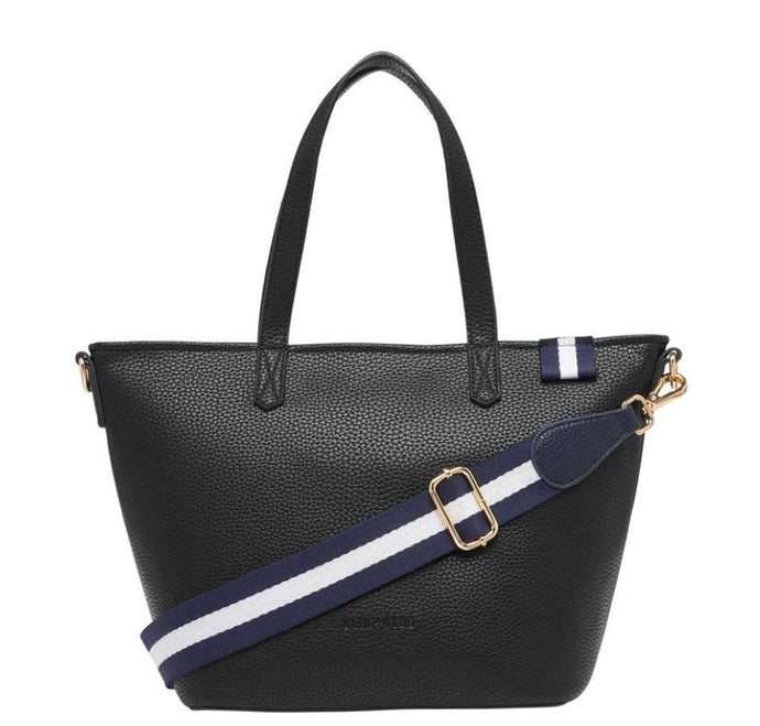 New York Zip Tote Black