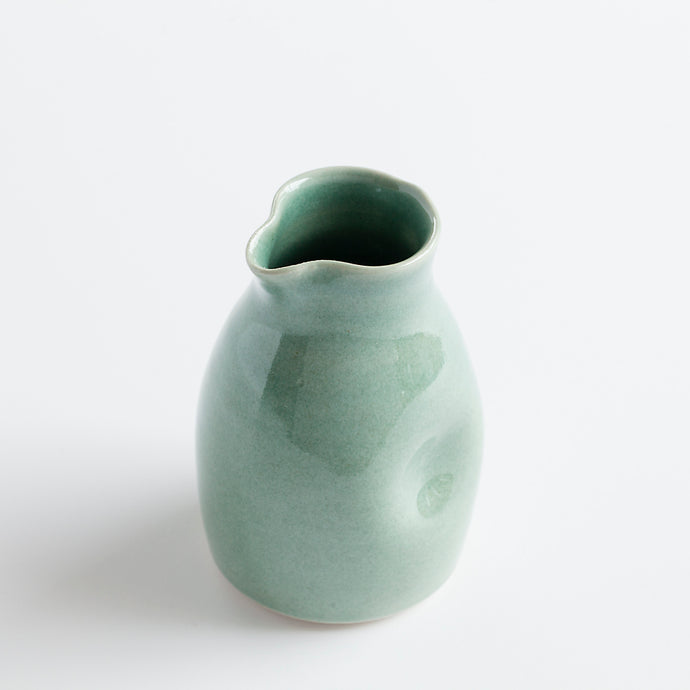 Ceramic Milk Jug Aqua