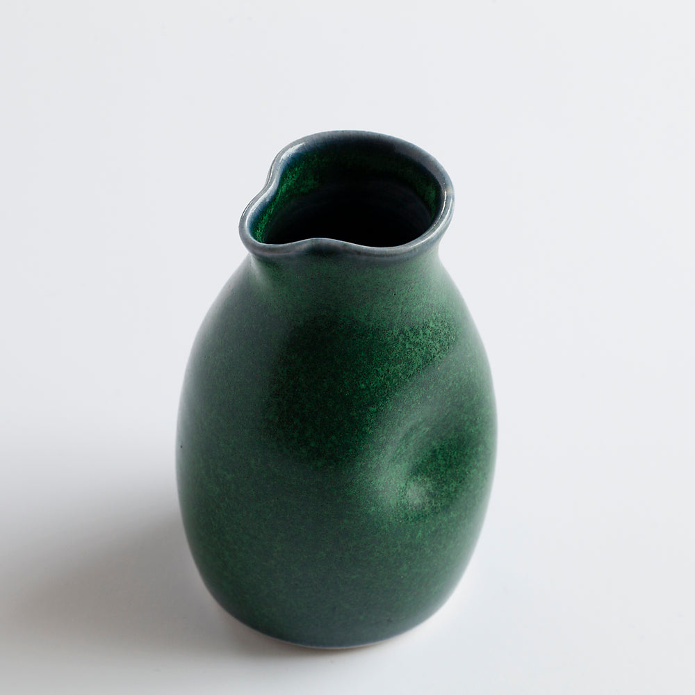 Ceramic Milk Jug Green