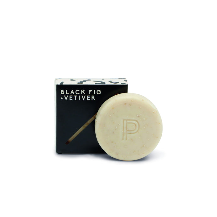 Black Fig & Vetiver Oatmeal Bar Soap