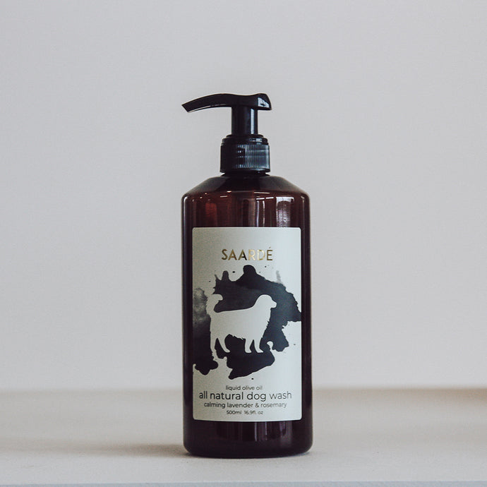 Liquid Olive Oil Dog Wash
