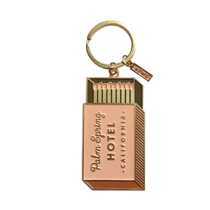 Palm Springs Matches Keychain