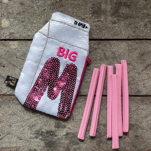 Iconic Sequin Purse - Big M