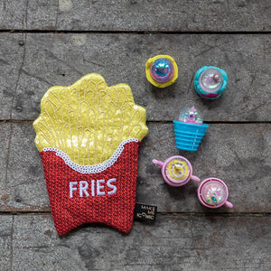 Iconic Sequin Purse - Fries