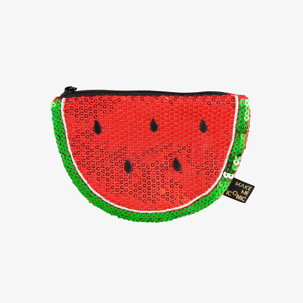 Iconic Sequin Watermelon Purse