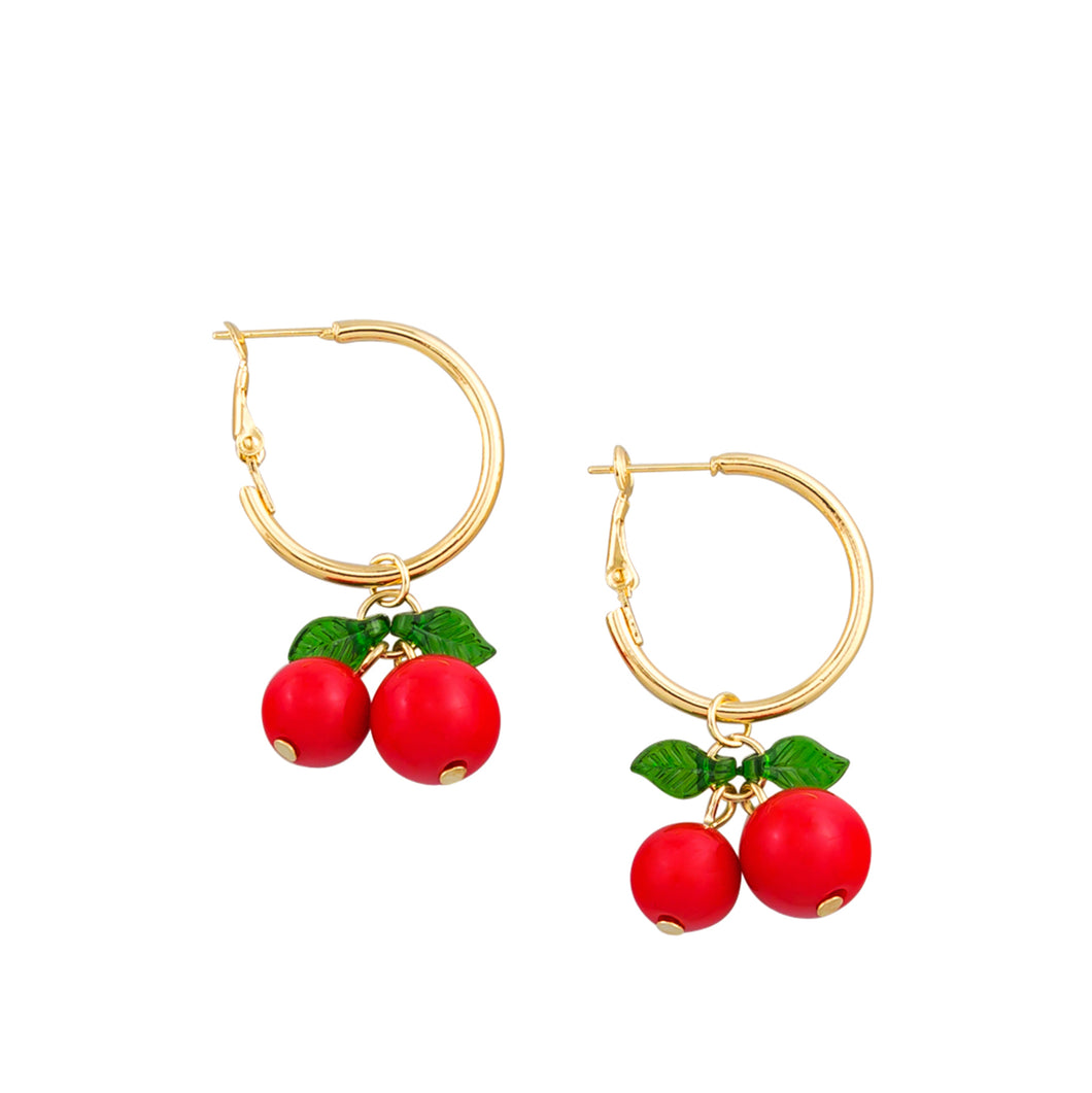 Cherry Tutti Frutti Earrings