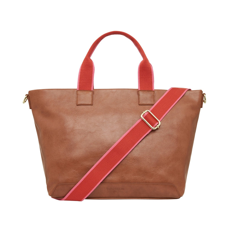 Fairlight Tote Tan Pebble