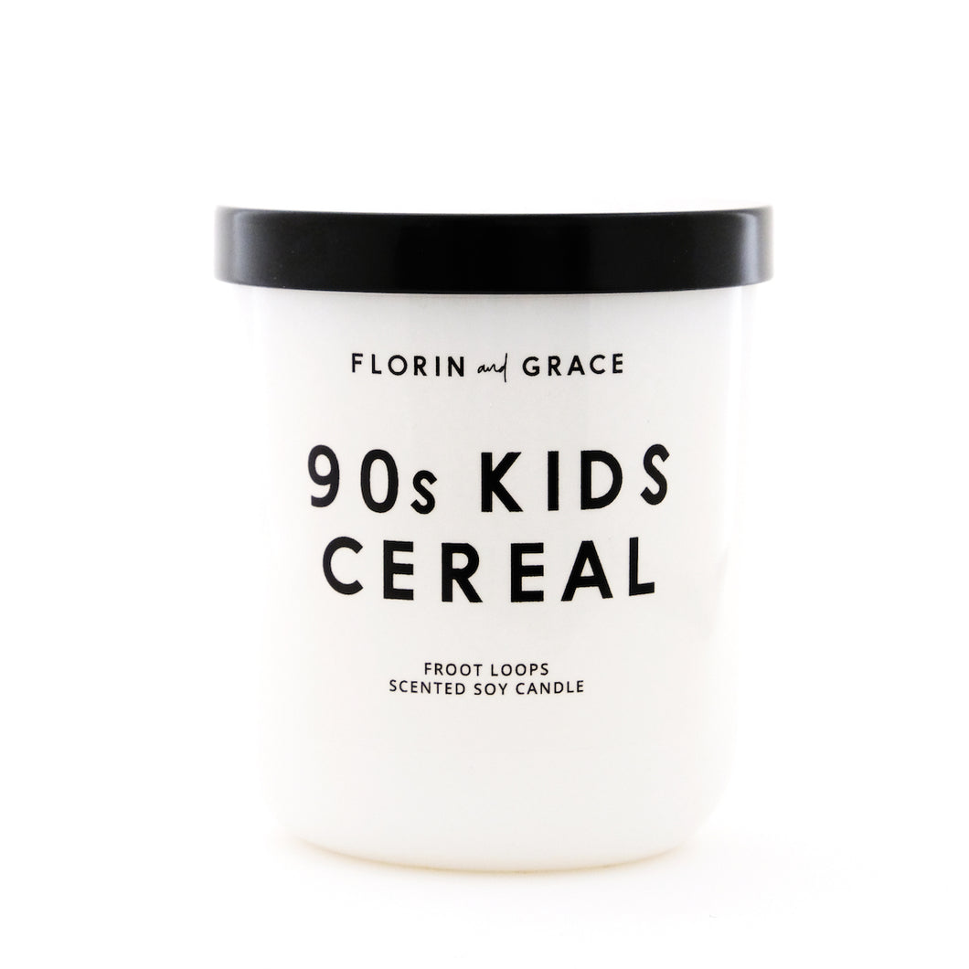 90's Kids Cereal Candle