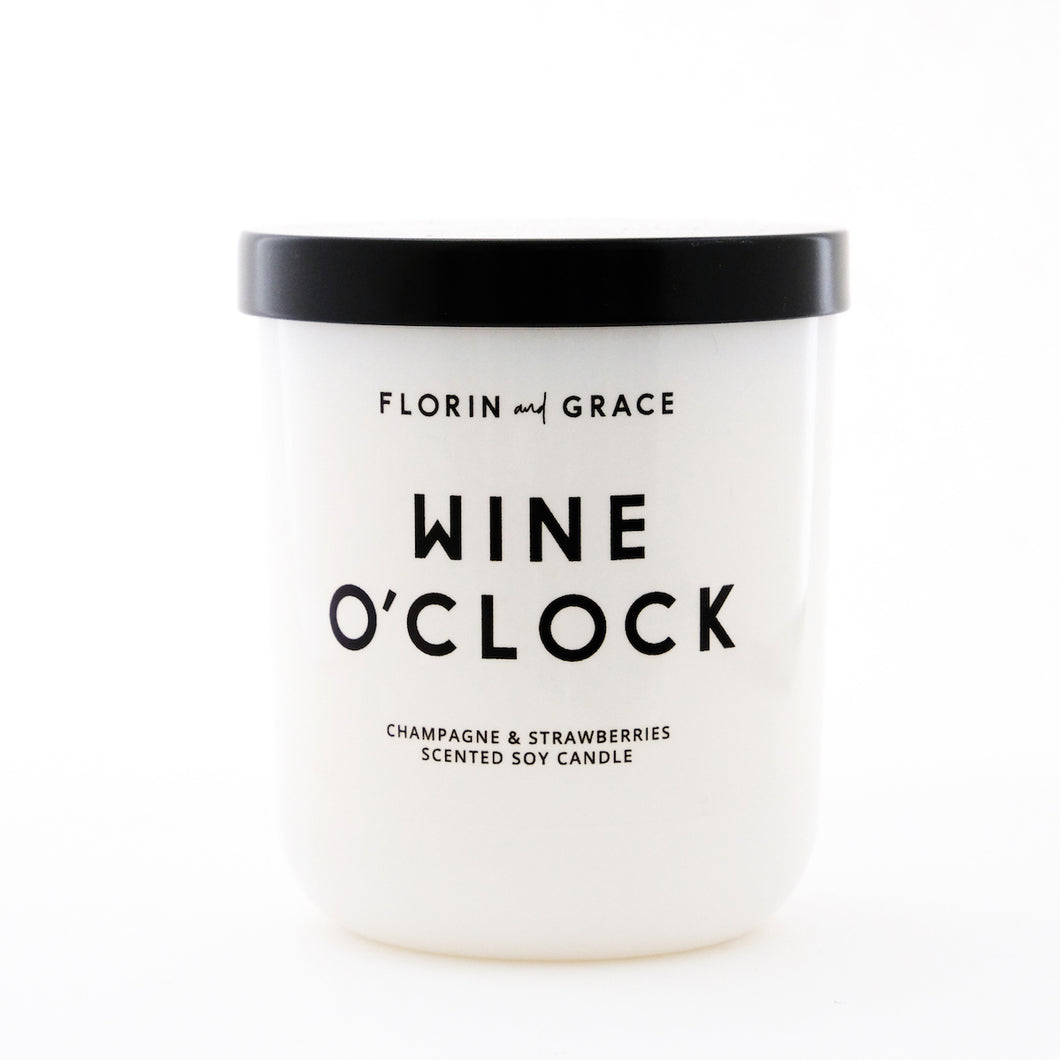 Wine O'Clock Candle